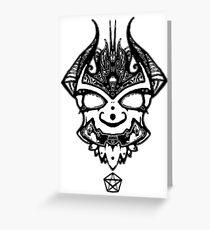 Oni  Greeting Card