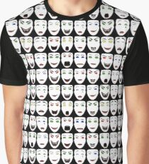 ReBoot - Hexadecimal's Faces Graphic T-Shirt