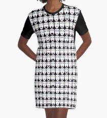 ReBoot - Hexadecimal's Faces Graphic T-Shirt Dress