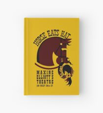 Horse eats hat Hardcover Journal