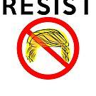 Nicht mein Präsident Protest Trump widerstehen von electrovista