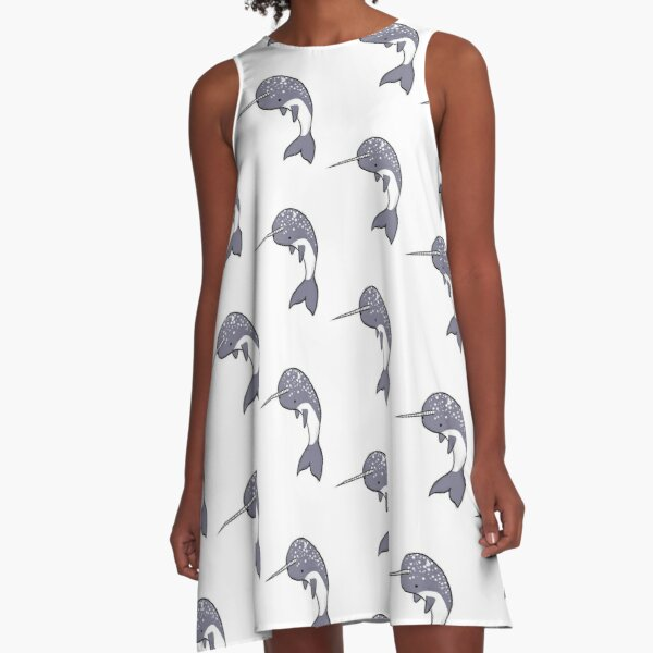 Narwhal A-Line Dress