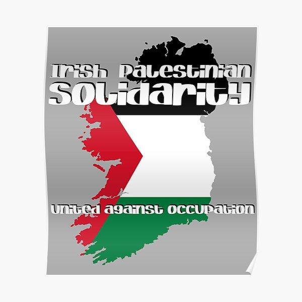 Irish Palestinian Solidarity Poster