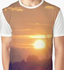 Sunset & Clouds Graphic T-Shirt