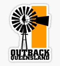Outback Queensland Sticker