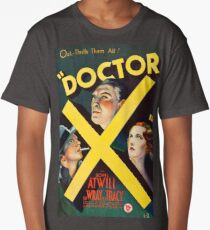 Doctor X 1946, vintage movie poster Long T-Shirt
