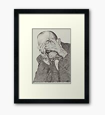 'Guess Who?' Framed Print