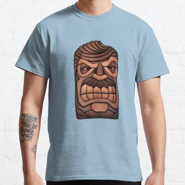 Ron Swanson Tiki Mask Classic T-Shirt