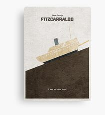 Fitzcarraldo Alternative Minimalist Poster Canvas Print