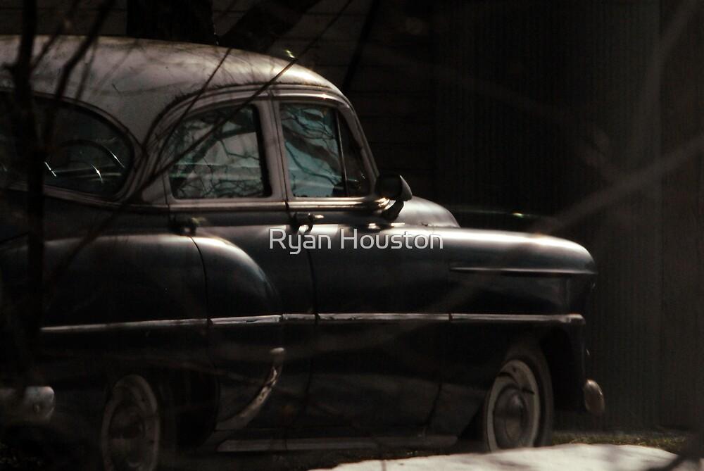 Antique Sedan by Ryan Houston