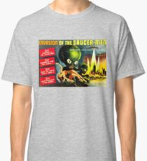 Invasion of the Saucer-Men, Horror Sci-Fi Movie Vintage Poster Classic T-Shirt