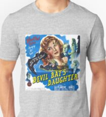 Devil Bat's Daughter, vintage horror movie poster Unisex T-Shirt