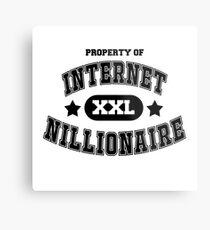 Internet Nillionaire Metal Print