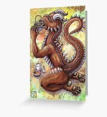 Tie Guan Yin Greeting Card