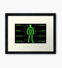 Fallout Targeting System (Human) Framed Print