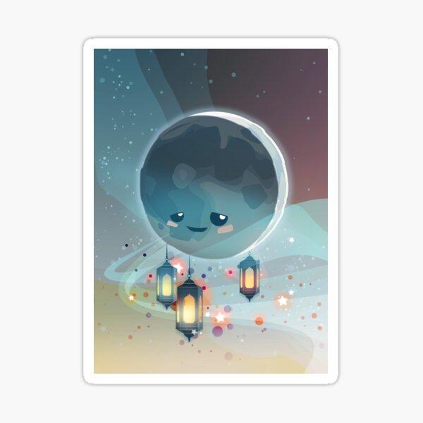 Lantern Moon (Ramadan Kareem) Glossy Sticker