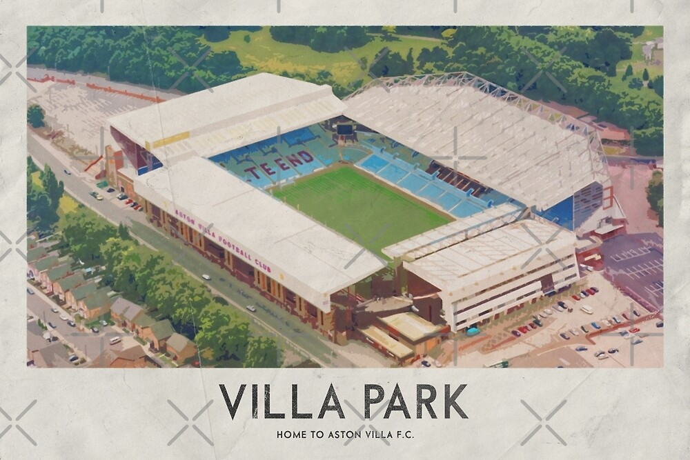 Vintage Football Grounds - Villa Park (Atson Villa FC) by twelfthman
