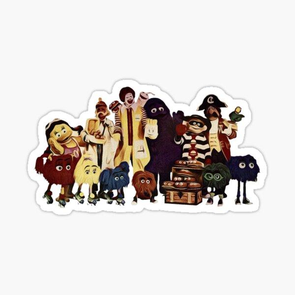 McDonalds classic characters Sticker