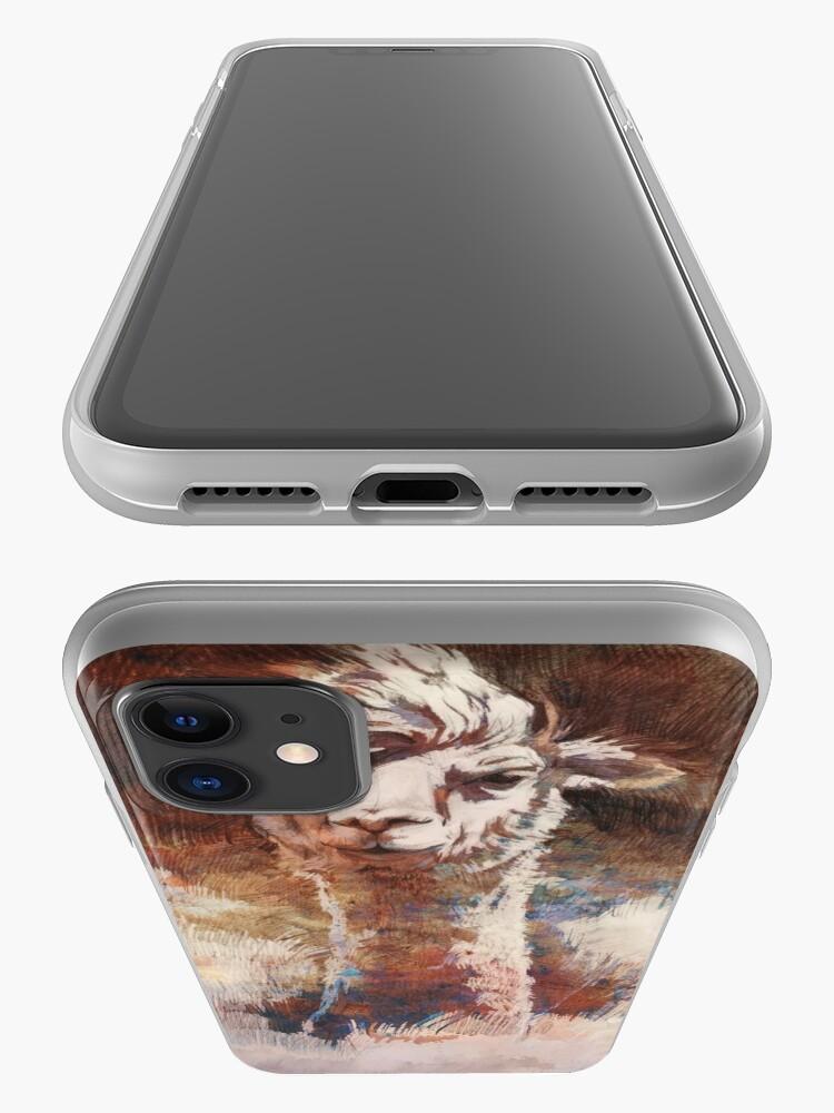Alternative Ansicht von Artsy Llama iPhone-Hülle & Cover