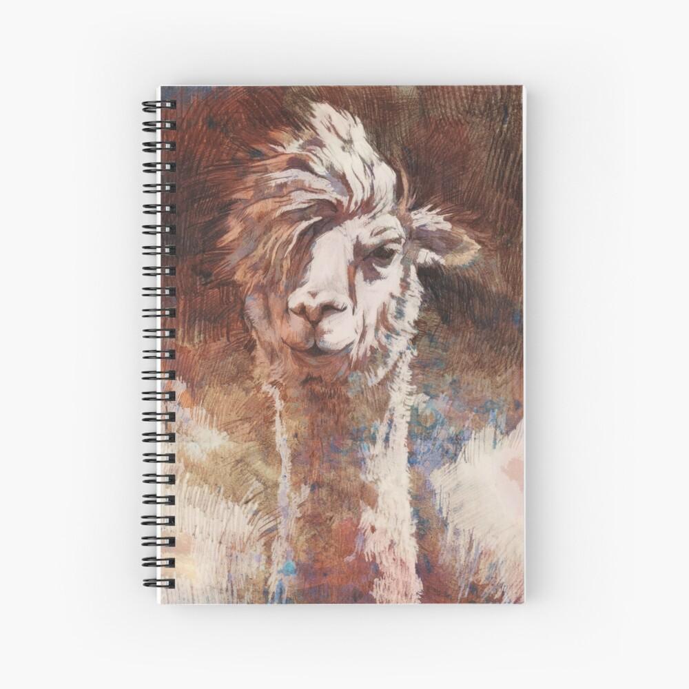 Artsy Llama Spiralblock