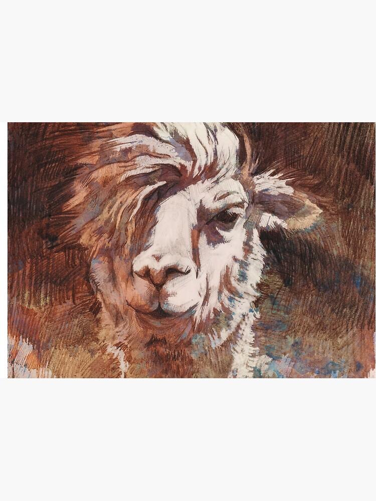 Artsy Llama von illing