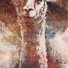 Artsy Llama von Daniela  Illing