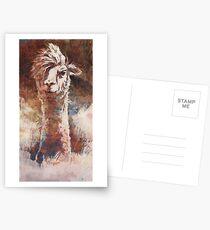 Artsy Llama Postkarten