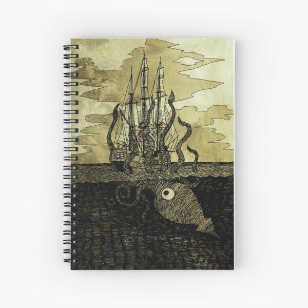 Kraken Hug Spiral Notebook