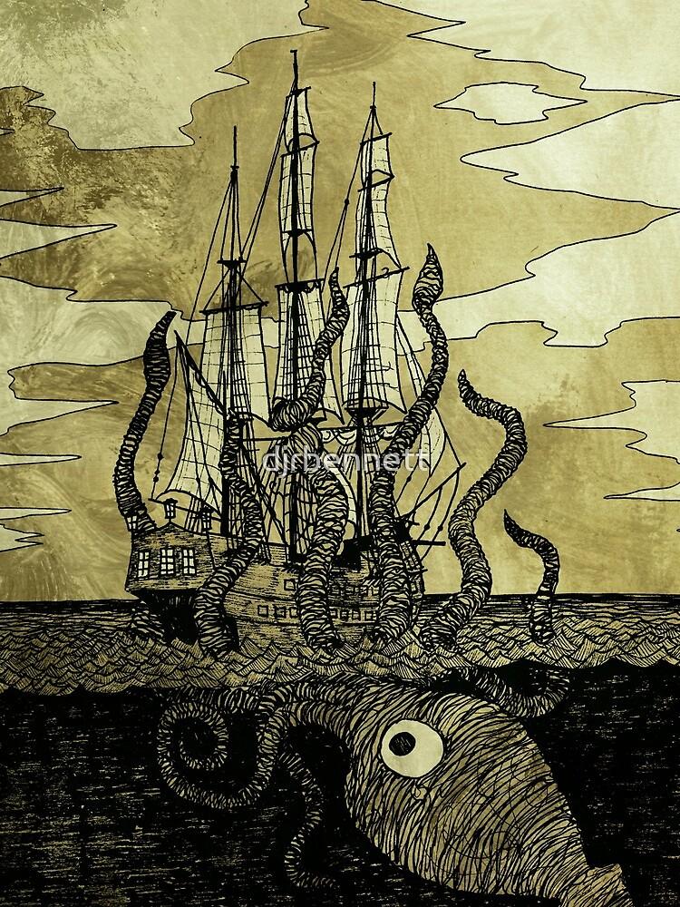 Kraken Hug by djrbennett