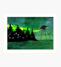 Tripod at Sea Art Print
