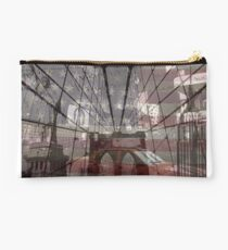 NYC Iconic Monuments Collage Studio Pouch