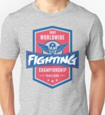 1991 Worldwide Fighting Championship Unisex T-Shirt