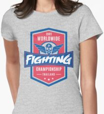 1991 Worldwide Fighting Championship Womens Fitted T-Shirt