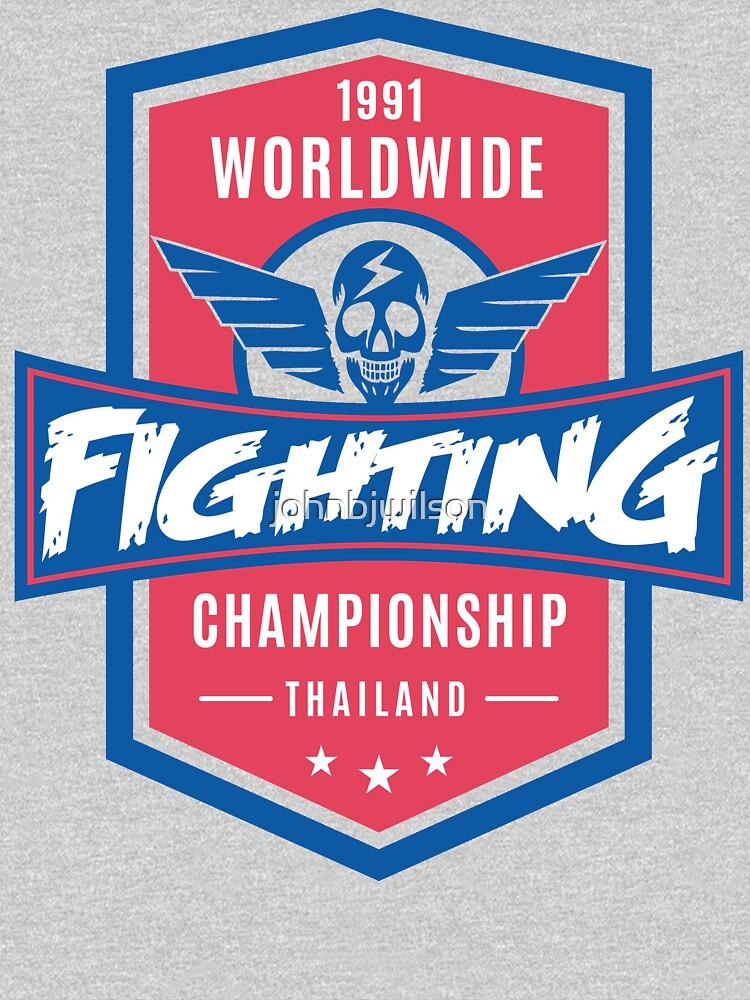 1991 Worldwide Fighting Championship by johnbjwilson