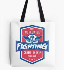 1991 Worldwide Fighting Championship Tote Bag