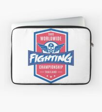 1991 Worldwide Fighting Championship Laptop Sleeve