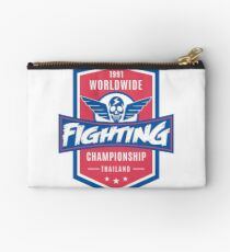 1991 Worldwide Fighting Championship Studio Pouch