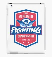 1991 Worldwide Fighting Championship iPad Case/Skin