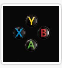 Xbox One Buttons 4K Sticker
