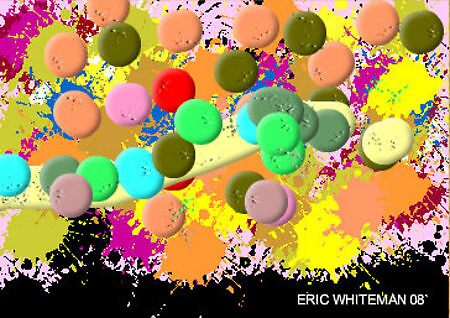 (INTO THE SUNSET OF LIFE ) ERIC WHITEMAN  ART  by eric  whiteman