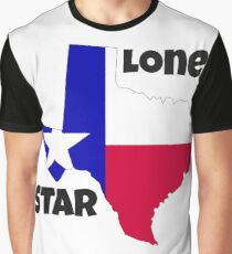 Texas: the lone star Graphic T-Shirt