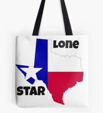Texas: the lone star Tote Bag