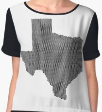 Texas flag Chiffon Top