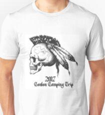 Conlon Camping Trip 2017 - Black on White T-Shirt