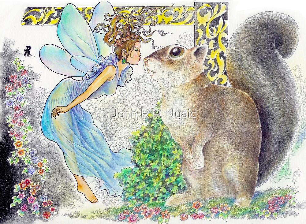 tropical fantasia - bidding farewell by John R.P. Nyaid