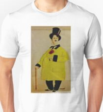 CHARLIE IN A FANCY YELLOW COAT AND TOP HAT Unisex T-Shirt