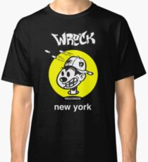 Wreck Records  - yellow logo Classic T-Shirt