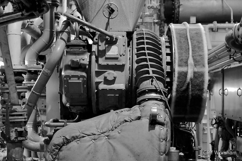 Main Engine 2 by Cliff Worsham