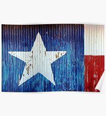 Texas-rustic Poster