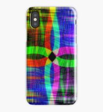 background;  dark abstract  blurred image iPhone Case/Skin